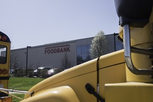 Bus Caravan at Food Bank